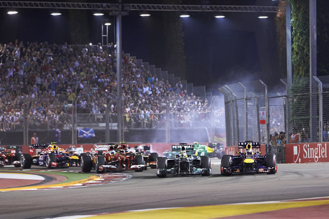 Formula 1 tech spotlight: Under the lights in Singapore