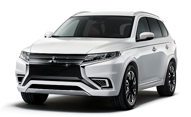 TopGear.com.ph Philippine Car News - Mitsubishi shows off Outlander PHEV Concept-S