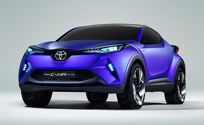 TopGear.com.ph Philippine Car News - Toyota shows off C-HR concept crossover