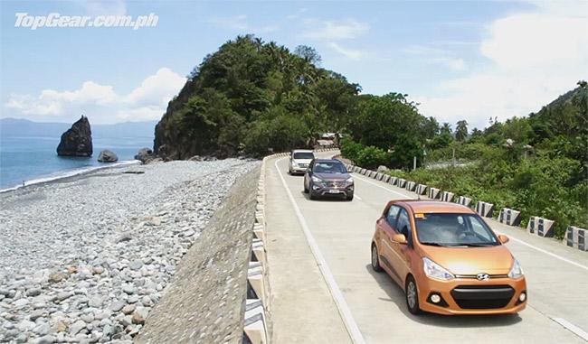 Video: We take Hyundai's lineup of Grand vehicles to Baler