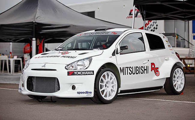 TopGear.com.ph Philippine Car News - Mitsubishi Mirage-based R5 rally car revealed for WRC 2