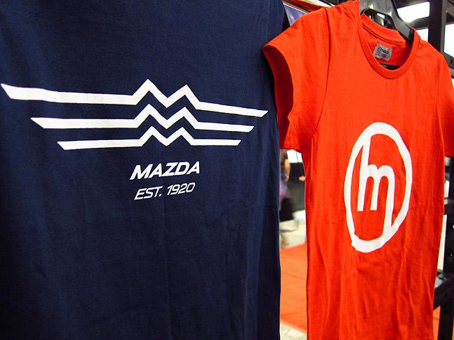 Mazda booth at PIMS