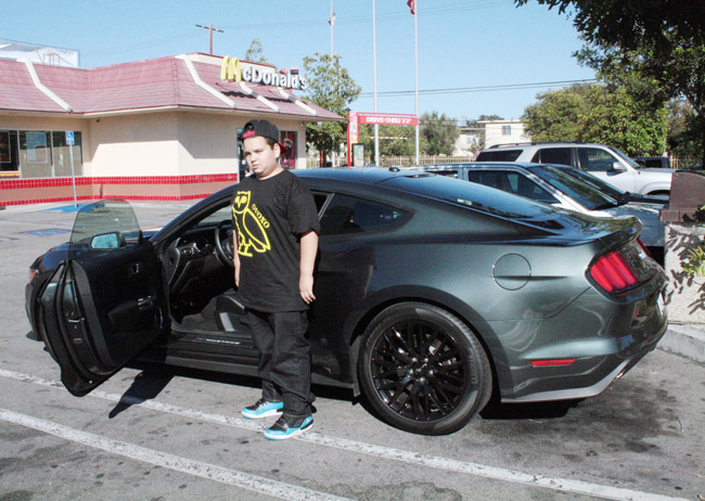 2015 Ford Mustang fanboy
