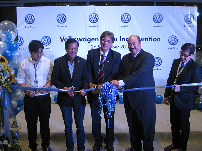 Volkswagen PH inaugurates Cebu dealership