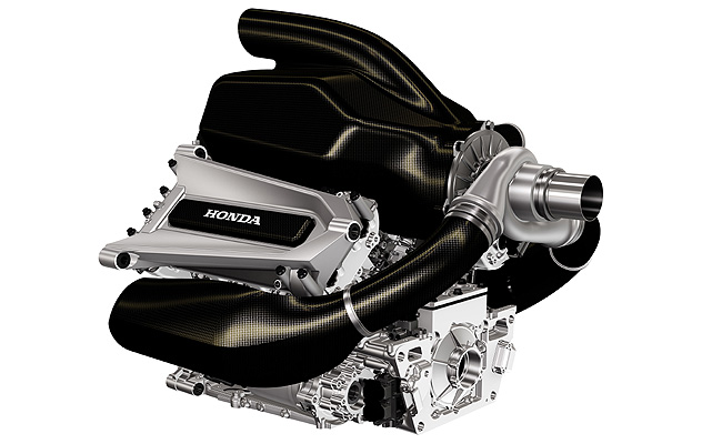 TopGear.com.ph Philippine Car News - Honda reveals Formula 1 engine ahead of 2015 season