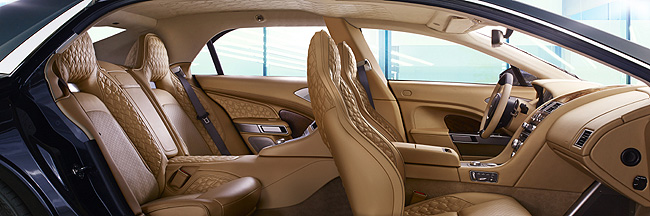 TopGear.com.ph Philippine Car News - Check out the insane interior trim of the Aston Martin Lagonda