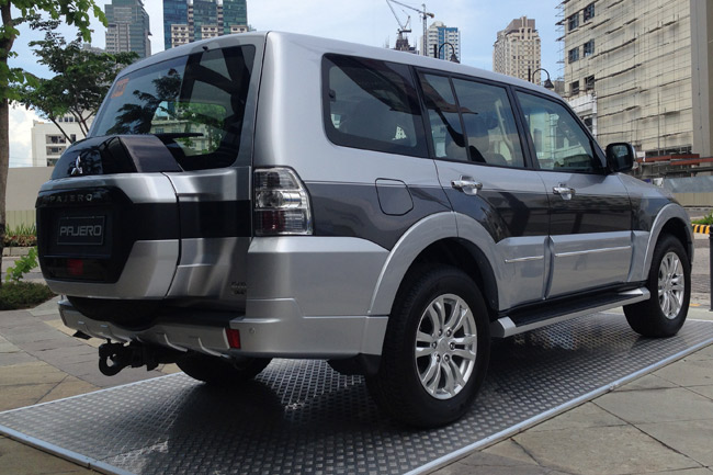 Mitsubishi Philippines Launches 2015 Pajero