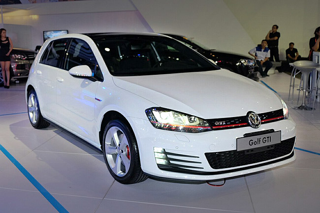 The Volkswagen Golf GTI's surprise appearance at PIMS 2014
