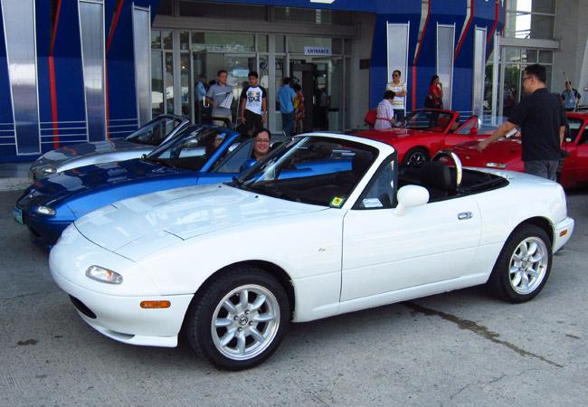 Mazda Miata celebration
