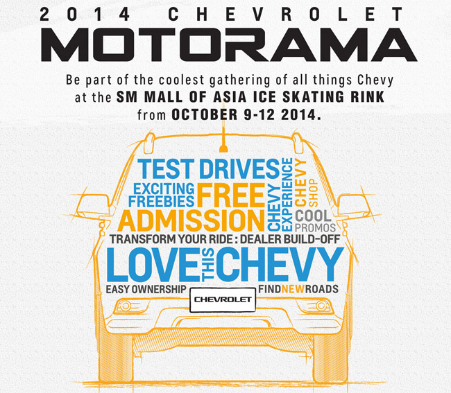 Six things to do at Chevrolet PH's Motorama