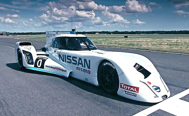 TopGear.com.ph Philippine Car News - Video: Nissan laps Top Gear test track with ZEOD RC