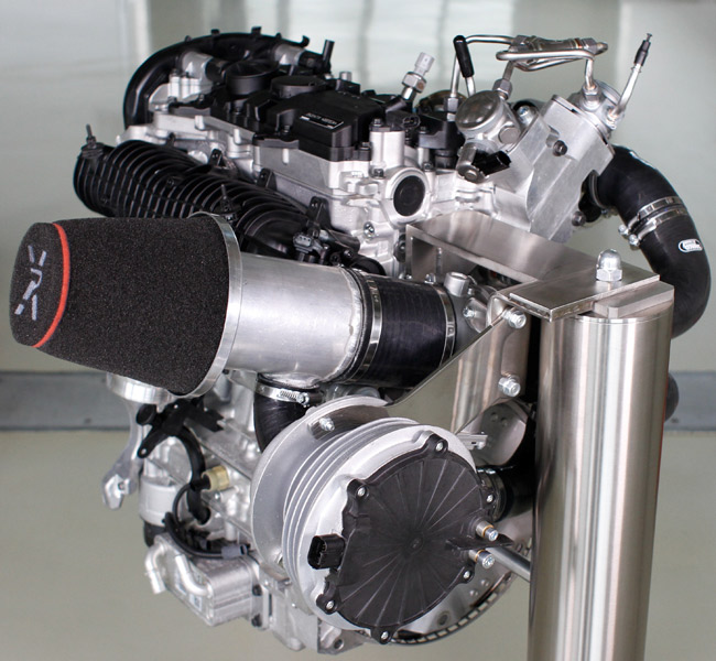 Volvo 450hp engine