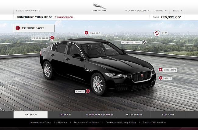TopGear.com.ph Philippine Car News - You can now spec your Jaguar XE