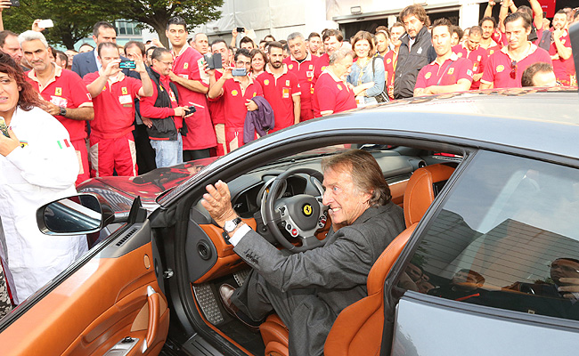 TopGear.com.ph Philippine Car News - Luca di Montezemolo bids farewell to Ferrari's road car division