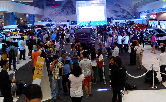 TopGear.com.ph Philippine Car News - The ongoing Chevrolet Motorama marks distributor's 5th anniversary