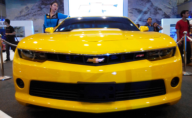 TopGear.com.ph Philippine Car News - Cars and girls: The 2014 Chevrolet Motorama