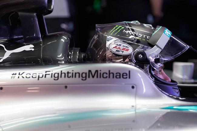 Mercedes AMG Petronas in Sochi