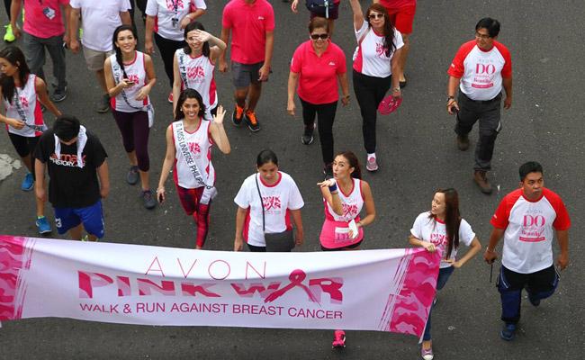 Avon Pink War