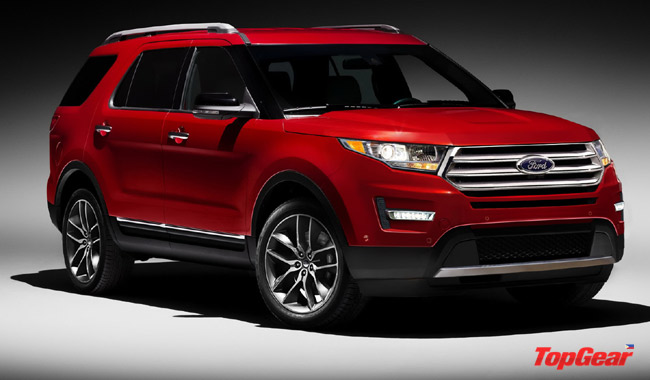 Automotive crystal ball: Ford Explorer's updated styling for 2016