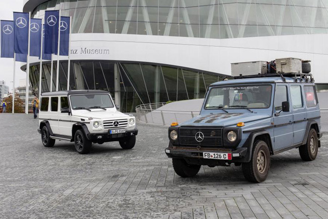 Mercedes-Benz G-Wagen global road trip