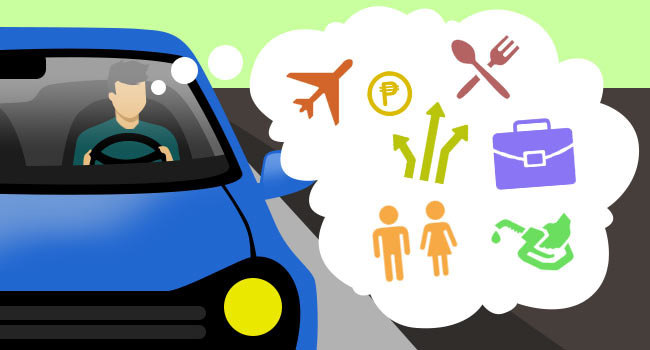 What's the most important decision that Filipino motorists make while driving?