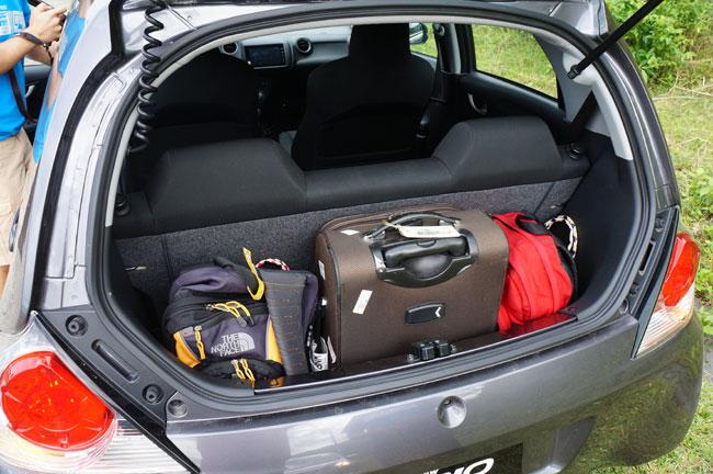 Honda Brio drive