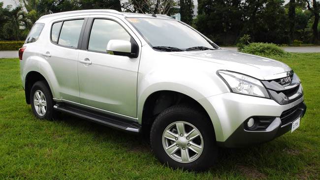 2014 Isuzu MU-X LS-M 4x2: Price, Specs, Features