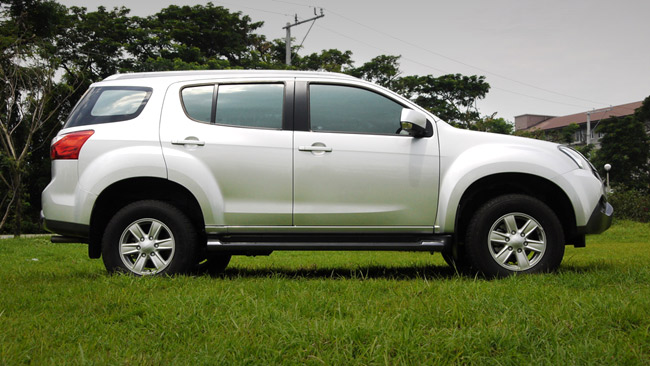 Isuzu MU-X LS-M 4x2 review in the Philippines