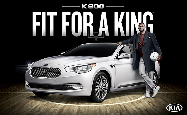 TopGear.com.ph Philippine Car News - LeBron James is Kia's luxury ambassador