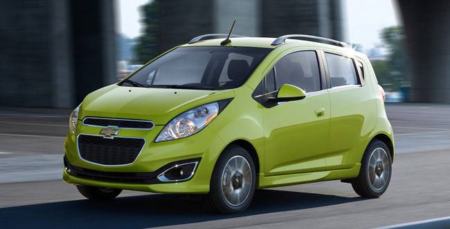 Over a million units of Chevy Spark sold worldwide