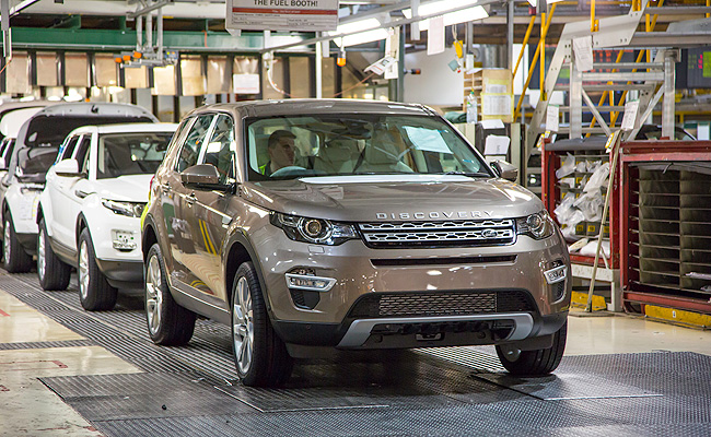 TopGear.com.ph Philippine Car News - First Land Rover Discovery Sport rolls out of UK plant