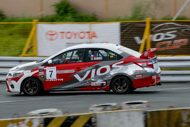 Toyota Vios Cup media champ