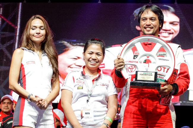 Toyota Vios Cup media champ