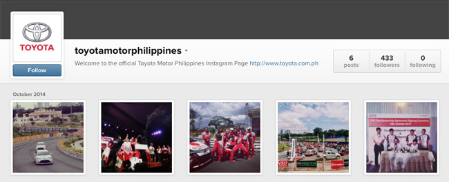 Toyota Motor Philippines on Instagram