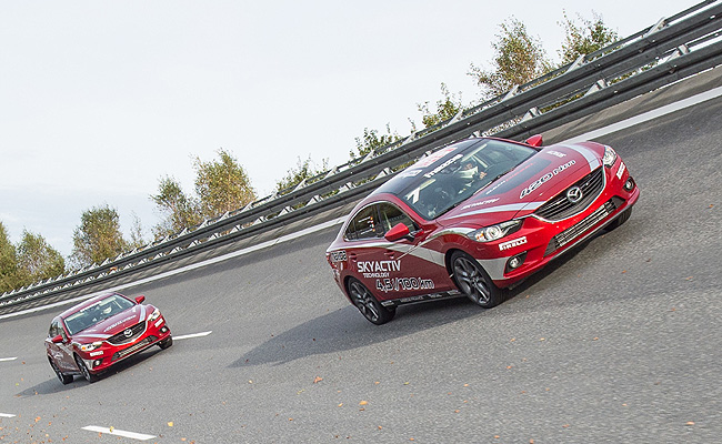 TopGear.com.ph Philippine Car News - Mazda 6 diesel seeks to break FIA speed records