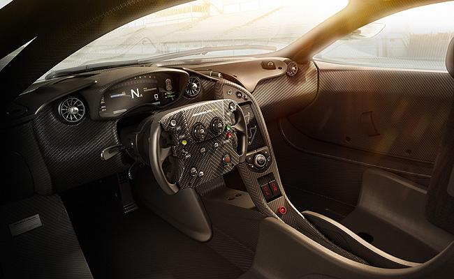 TopGear.com.ph Philippine Car News - McLaren reveals P1 GTR's interior