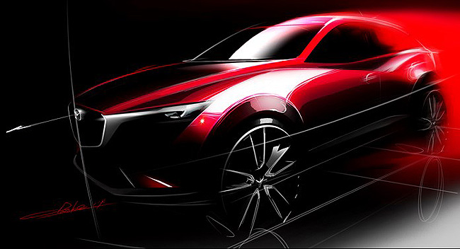 TopGear.com.ph Philippine Car News - Mazda to reveal CX-3 at LA Auto Show
