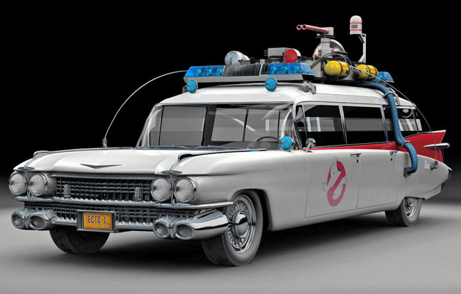 Ghostbusters Ectomobile aka Ecto-1