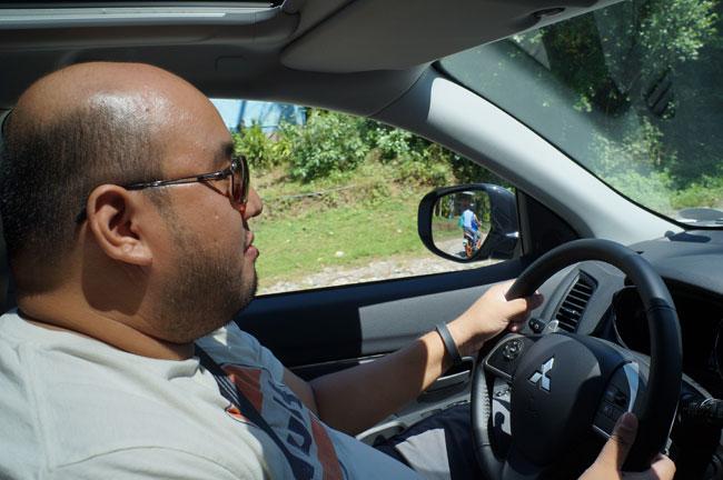 Mitsubishi ASX La Union drive