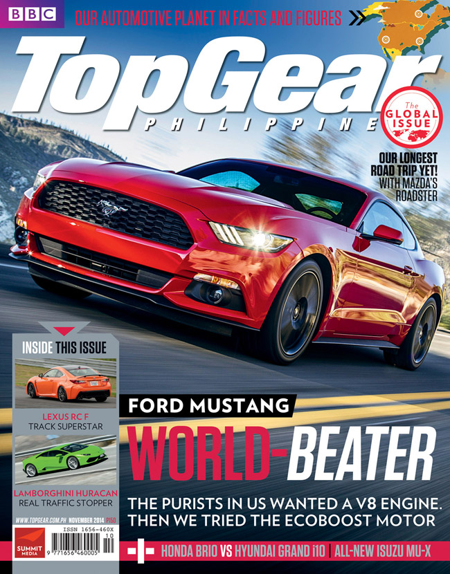 Top Gear Philippines' November 2014 issue