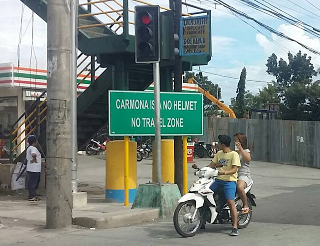 Traffic signs in the Philippines