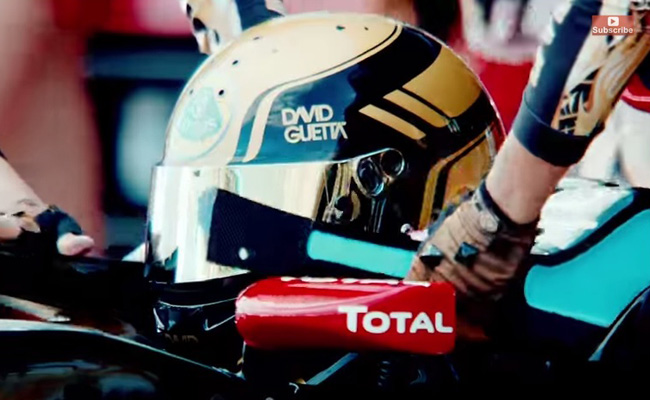 TopGear.com.ph Philippine Car News - Video: David Guetta's latest music video has a Formula 1 theme