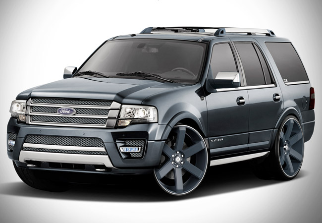 Ford Showing Off 3 Customized Versions Of 2015 Expedition At Sema