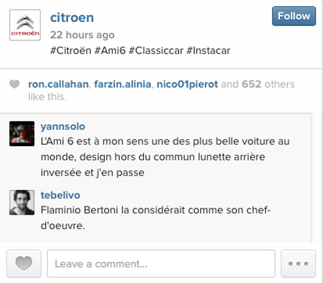 Citroen on Instagram
