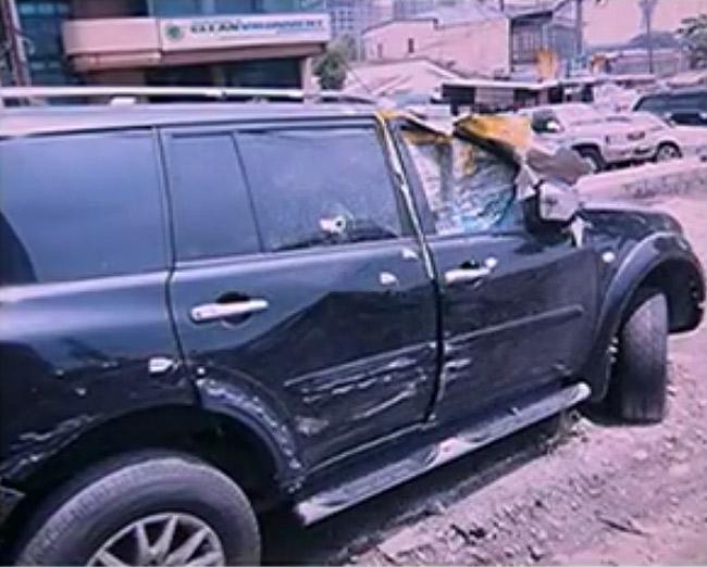 Report: Mitsubishi car salesman shot by cops tested negative for gunshot residue