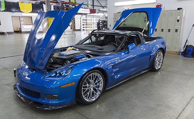 TopGear.com.ph Philippine Car News - Chevrolet restores first 'sinkhole' Corvette in time for SEMA