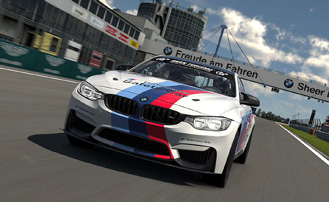 TopGear.com.ph Philippine Car News - BMW M4 safety car to be made available in Gran Turismo 6