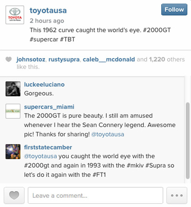Toyota USA on Instagram