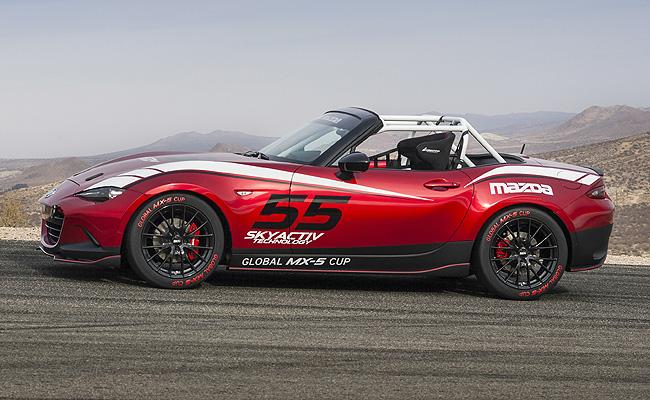 Mazda Green Lights Global Mx 5 One Make Racing Series For 2016