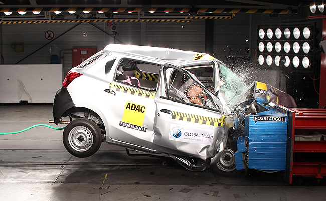 TopGear.com.ph Philippine Car News - Global NCAP gives Datsun Go zero-safety rating